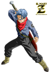 Future Trunks (DBS) by el-maky-z
