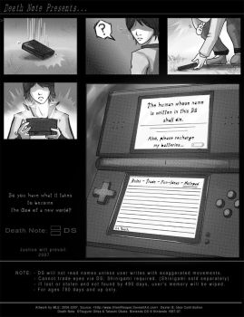Death Note: DS Parody Ad by SilentReaper
