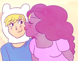 Lumpy kisses by nikki-kun05