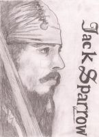 Jack Sparrow 1 by Cheeky-Little-Gamer
