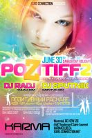 pozitiff 2 flyer by sounddecor