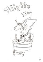 Happy Birthday littel sis by Axe-Law