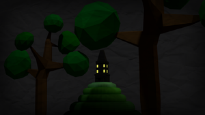 Haunted House (Low Poly) by thowePCA