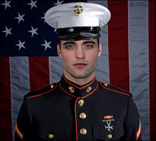 Robert Pattinson | Military Manip by IllicitWriter