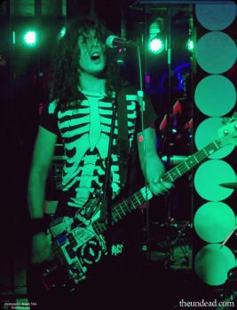 The Undead @ Clash Bar 8/22/15 - Paul Mauled by sinisterkiss