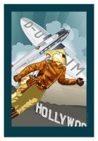 The Rocketeer by MercenaryGraphics