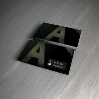 Business Card Design by SobohRami