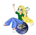 Earth Day ID by HumanStick