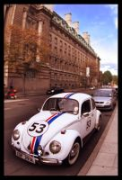 Vintage VW Bug by SJksn
