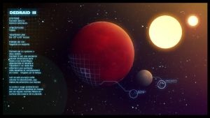 DEDRAID III planet by neitsabes