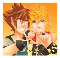 KH-Shared Heart by AnnaAelfara