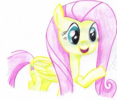 Fluttershy by CreepyForever