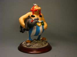 Obelix sculpture COLOR 2 by yotaro76