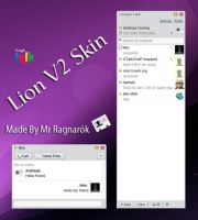 Gtalk Lion V2 Skin by Mr-Ragnarok