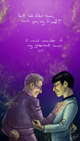 The Greatest Honor - RIP Leonard Nimoy by anifanatical