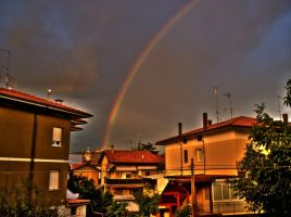 Rainbow HDR by snowphoenix2006