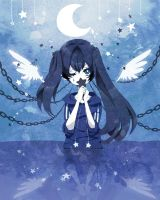 Black Rock Shooter- Your Stars by crazyrainbowstars