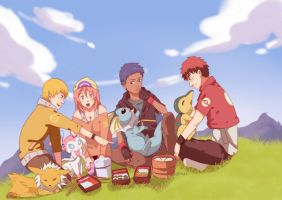 knb: luncheon by iwaki-san