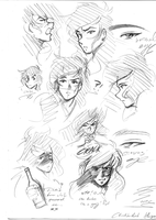 Shego..MBS Sketches by Lazy-chicken