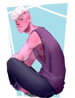 Manly Cotton Candy Boy by Yuncumber