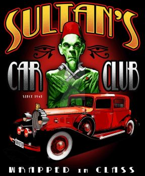 Sultan's Car Club by vicartist