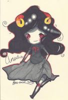 Aradia chibi by TravelersDaughter