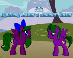Ask Lightning Rocker and Thunder Flutter by LR-Studios