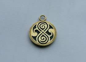 Seal of Rassilon -brass by merovech-navarre