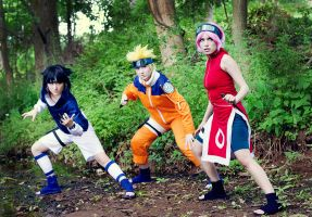 Team 7 - Naruto by Mostflogged