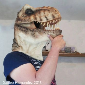 T Rex Mask by GalileoN