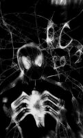 Symbiote Spiderman by TheHypotheticalNerd