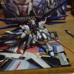 Strike freedom gundam by manuelburgos