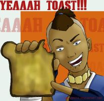 Sokka: Yeah Toast by ridiqlum