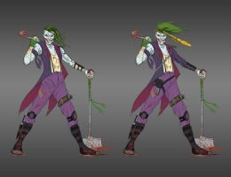 Tactical Clown Prince of Crime by darknight7