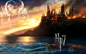 Harry Potter 7 - wallpaper by BellsElle