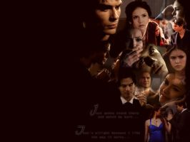 Delena Wallpaper 2 by angiezinha