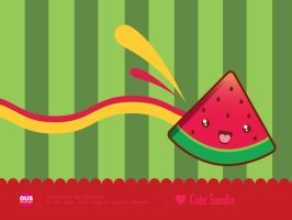 Cute Sandia Wallpaper by AntaresPuchu