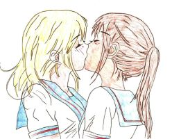 Sailor kiss by Sanne1992