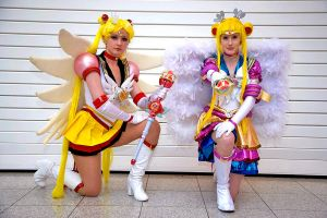 Eternal Sailor Moon: Anime and Myu style! -3 :D by Zedela