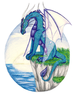 Cliff Dragon by shadee