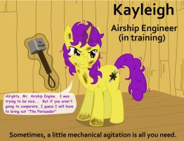 "Kayleigh, Airship Engineer ""in training"" by Birdco"