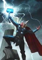 The Mighty Thor by AdmiraWijaya