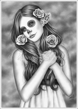 Day of the dead by Zindy
