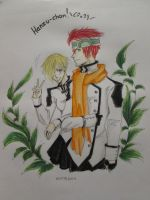 Lavi and Hanzu-chan by Tan97