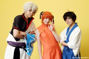 Gintama: Yorozuya gang by red-cluster