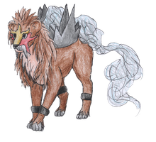 Entei by bubblewrap-pancakes