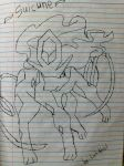 [Drawing] Suicune by LuGiAdriel14