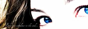 Eyes are windows to the soul... by Annas-Day-Dreams