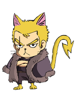 Colo Exeed laxus fairytail by mayoua