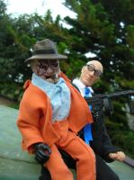 Ventriloquist and Scarface by TBolt66